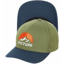 PICTURE MEADOW BASEBALL CAP ARMY GREEN 21