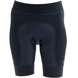 UYN LADY BIKING RIDEMILES OW PANT SHORT BLACK/BLACK 21