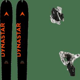 Boutique DYNASTAR DYNASTAR M-PIERRA MENTA OPEN 21 + MOVEMENT SUPERLIGHT TRACKS BLACK 21 - Ekosport