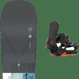 Snowboard AMPLID AMPLID PARADIGMA 21 + UNION ATLAS FC BLACK 21 - Ekosport