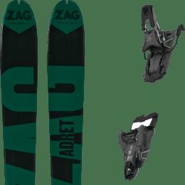 Ski randonnée ZAG ZAG ADRET 81 20 + SALOMON S/LAB SHIFT MNC 13 N BLACK SH90 22 - Ekosport