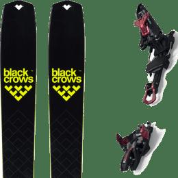 BU Fond / Rando BLACK CROWS BLACK CROWS SOLIS 22 + MARKER KINGPIN 10 75-100MM BLACK/RED 22 - Ekosport