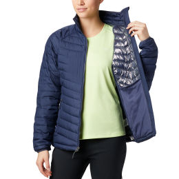COLUMBIA EU POWDER LITE JKT NOCTURNAL 21
