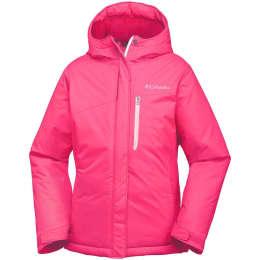 Roupa de inverno COLUMBIA COLUMBIA ALPINE FREE FALL JKT JR PUNCH PINK WHITE 18 - Ekosport