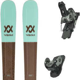 Pack ski alpin VOLKL VOLKL SECRET 102 20 + SALOMON WARDEN MNC 13 N OIL GREEN 20 - Ekosport