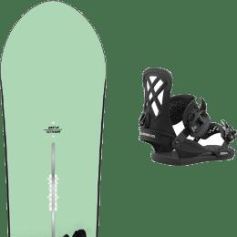 Snowboard BURTON BURTON DAY TRADER 21 + UNION MILAN BLACK 21 - Ekosport