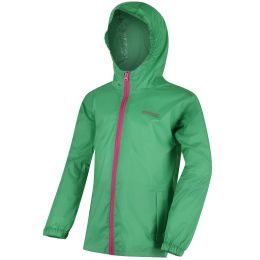 REGATTA KID PK IT JKT III ISLAND GREEN 19