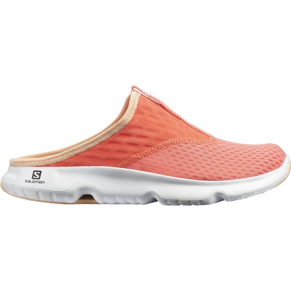 SALOMON Sandale de récupération Reelax Slide 5.0 W Persimon/white/almond Cream Femme Orange taille 3.5