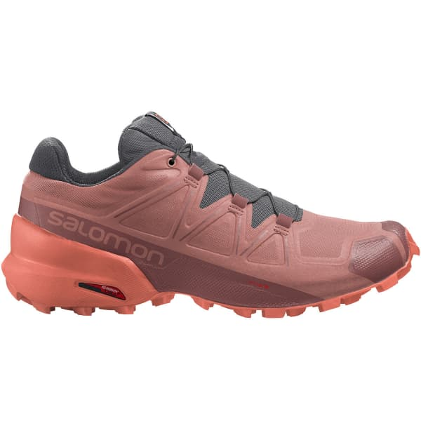 SALOMON Chaussure trail Speedcross 5 W Brick Dust/persimon/persimon Femme Rose taille 6.5