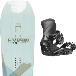 YES HYBRID 20 + SALOMON QUANTUM CARBON 20