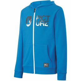 PICTURE BASEMENT ZIP HOODY KIDS BLUE 21