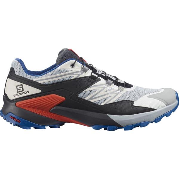 SALOMON Chaussure trail Wings Sky Pearl Blue/ebony/cherry Tomato Homme Noir/Bleu/Multicolore taille 6.5