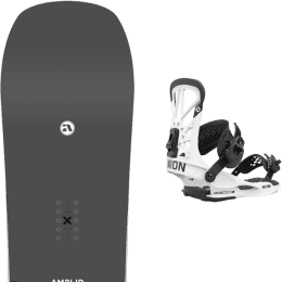 Snowboard AMPLID AMPLID STEREO 21 + UNION FLITE PRO WHITE 21 - Ekosport