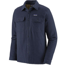 PATAGONIA M'S INSULATED FJORD FLANNEL JKT NAVY BLUE 21