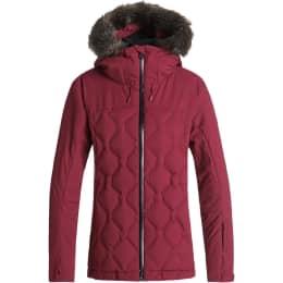 Vêtement de ski ROXY ROXY BREEZE JK BEET RED 19 - Ekosport