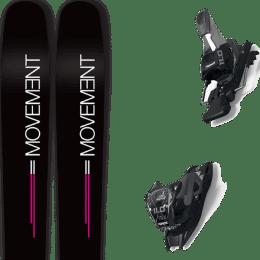 Boutique MOVEMENT MOVEMENT GO 100 WOMEN 19 + MARKER 11.0 TCX BLACK/ANTHRACITE 20 - Ekosport