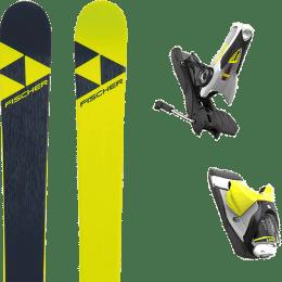 Landing housse ski offerte 2018 FISCHER FISCHER NIGHTSTICK 21 + LOOK SPX 12 DUAL B120 CONCRETE YELLOW 19 - Ekosport