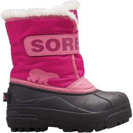 SOREL CHILDRENS SNOW COMMANDER TROPIC PINK/DE 20