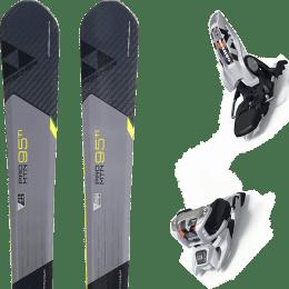 Pack ski alpin FISCHER FISCHER PRO MTN 95 TI 17 + MARKER GRIFFON 13 ID WHITE 20 - Ekosport