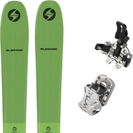 BLIZZARD ZERO G 095 GREEN 22 + PLUM GUIDE 12 GRIS 20