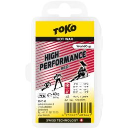 TOKO HOT WAX 40G RED 20