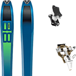 Pack ski DYNAFIT DYNAFIT TOUR 88 20 + DYNAFIT SPEED TURN 2.0 BRONZE/BLACK 21 - Ekosport