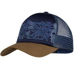 BUFF TRUCKER CAP KIDS KASAI NIGHT BLUE 21