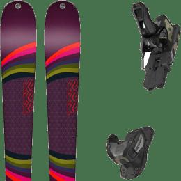 Pack ski alpin K2 K2 MISSCONDUCT + ATOMIC WARDEN 13 MNC BLACK/GOLD - Ekosport