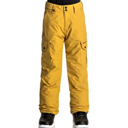 QUIKSILVER PORTER YOUTH PT MUSTARD GOLD 18