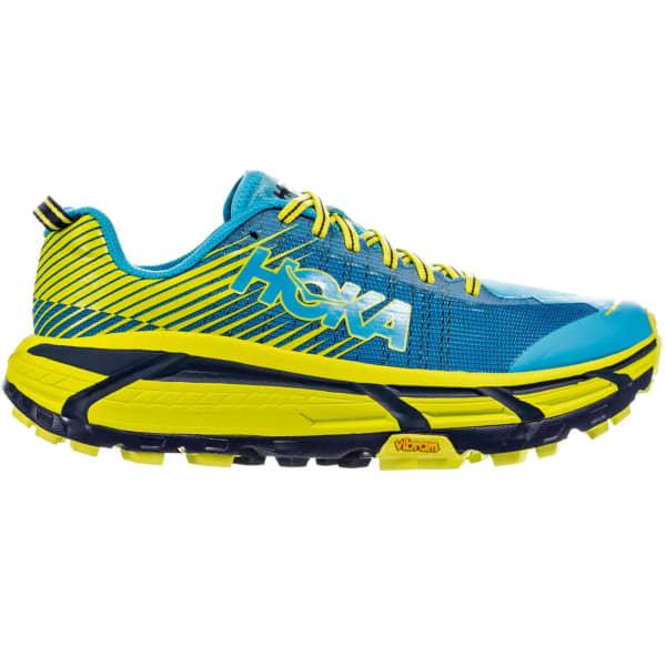 HOKA ONE ONE Chaussure trail Evo Mafate 2 Cyan/citrus Homme Bleu/Jaune taille 8.5