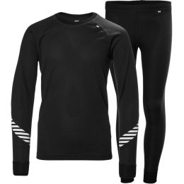 HELLY HANSEN JR HH LIFA SET BLACK 21