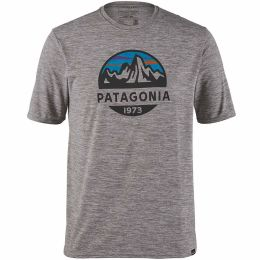 PATAGONIA M'S CAP COOL DAILY GRAPHIC SHIRT FITZ ROY FEATHER GREY 21