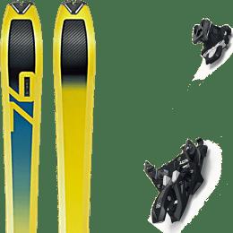 Pack ski+fix DYNAFIT DYNAFIT SPEED 76 20 + MARKER ALPINIST 12 BLACK/TITANIUM 22 - Ekosport