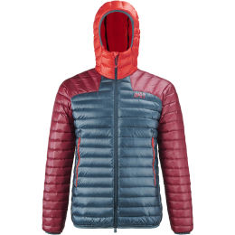 MILLET K SYNTH'X DOWN HOODIE M ORION BLUE/TIBETAN RED 21