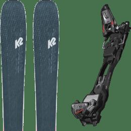 Pack ski alpin K2 K2 MINDBENDER 98 TI ALLIANCE 20 + MARKER F12 TOUR EPF BLACK/ANTHRACITE 22 - Ekosport