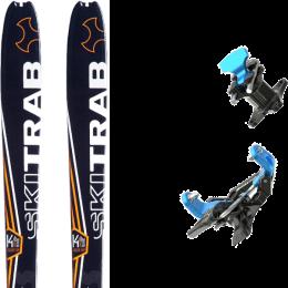 SKI TRAB GARA POWERCUP 21 + SKI TRAB ATACCO GARA TITAN BLUE 21