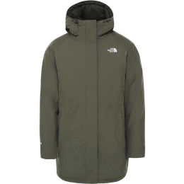 THE NORTH FACE W RECYCLED BROOKLYN PARKA NEW TAUPE GREEN 21