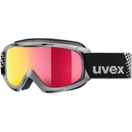Boutique UVEX UVEX SLIDER FM ANTHRACITE MIRROR RED LASERGOLD LITE 21 - Ekosport