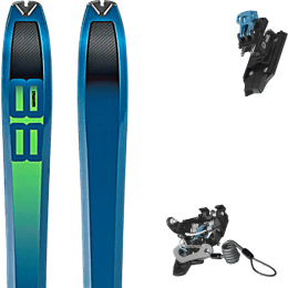 Pack ski DYNAFIT DYNAFIT TOUR 88 19 + SALOMON N MTN PURE BLACK/BLUE W BR 21 - 010 - Ekosport