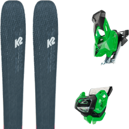 Boutique K2 K2 MINDBENDER 98 TI ALLIANCE 20 + TYROLIA ATTACK² 13 GW GREEN W/O BRAKE 19 - Ekosport