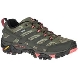 Chaussure randonnée MERRELL MERRELL MOAB 2 GTX W BELUGA/OLIVE 21 - Ekosport