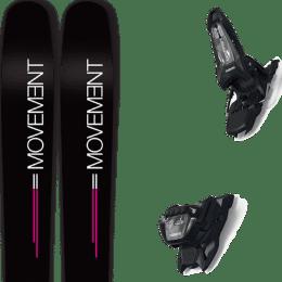 Boutique MOVEMENT MOVEMENT GO 100 WOMEN 19 + MARKER GRIFFON 13 ID BLACK 21 - Ekosport