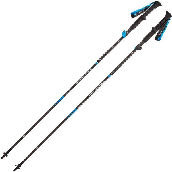 BLACK DIAMOND Bâton de trail Distance Carbon Flz Z-poles Homme Noir taille 105-125