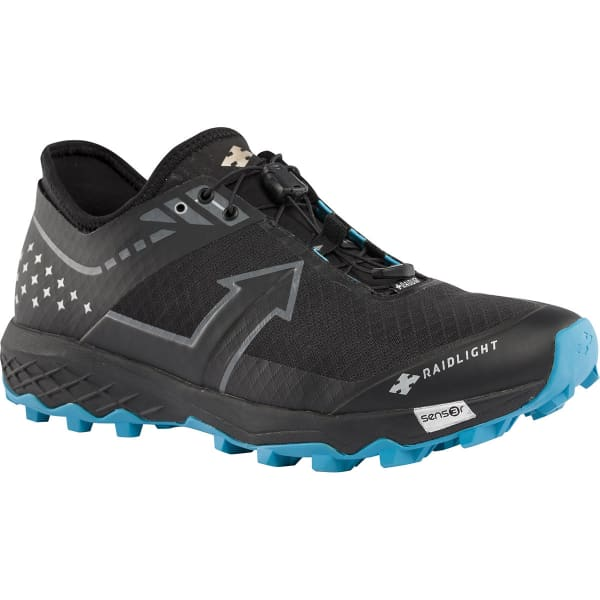 RAIDLIGHT Chaussure trail Revolutiv Black/black Homme Noir taille 8.5