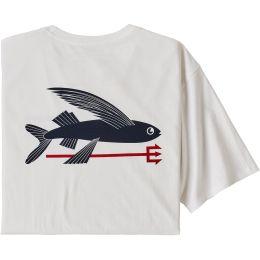 PATAGONIA M'S FLYING FISH ORGANIC T-SHIRT WHITE 21