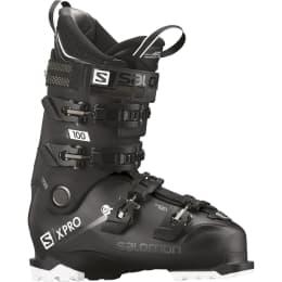 Chaussure ski alpin SALOMON SALOMON X PRO 100 BK/METABLACK/WH 20 - Ekosport