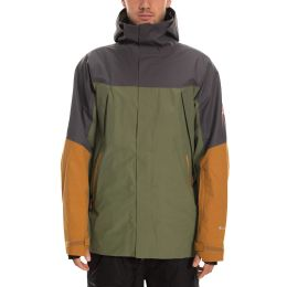 686 MNS GLCR GORE ZONE THERMA JKT SURPLUS GREEN COLORBLOCK 20