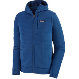 PATAGONIA M'S R1 FULL-ZIP HOODY SUPERIOR BLUE 21