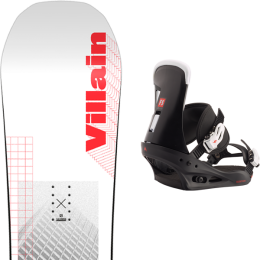 SALOMON THE VILLAIN 21 + BURTON FREESTYLE BLACK 21