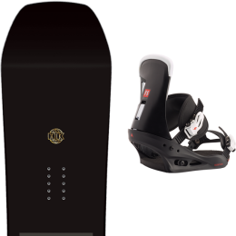 SALOMON SNOWBOARD HUCK KNIFE 20 + BURTON FREESTYLE BLACK 21